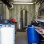 Drugslab gevonden in zeecontainer Oud Gastel