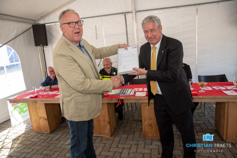 Certifcaat Keurmerk Veilig Ondernemen voor bedrijventerreinen Borchwerf I en Majoppeveld