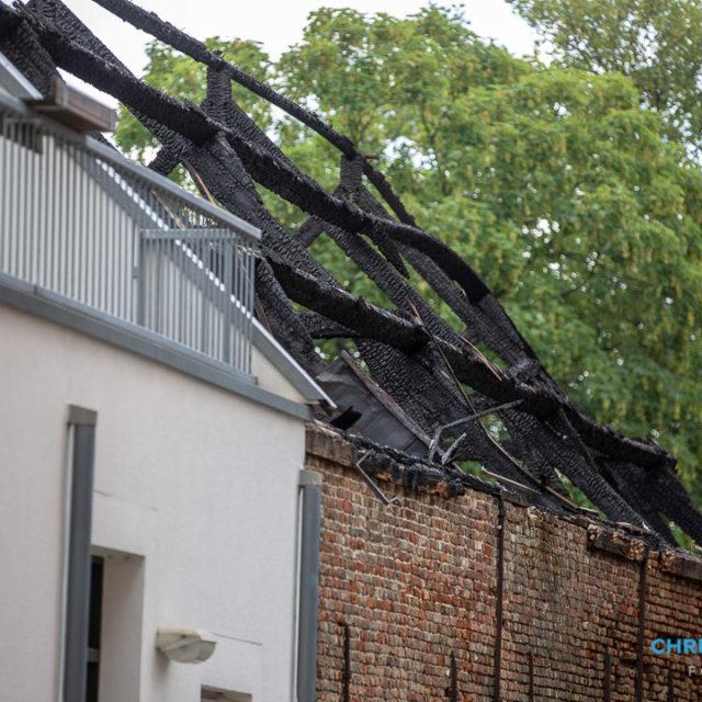 Politie sluit brandstichting niet uit in Roosendaal