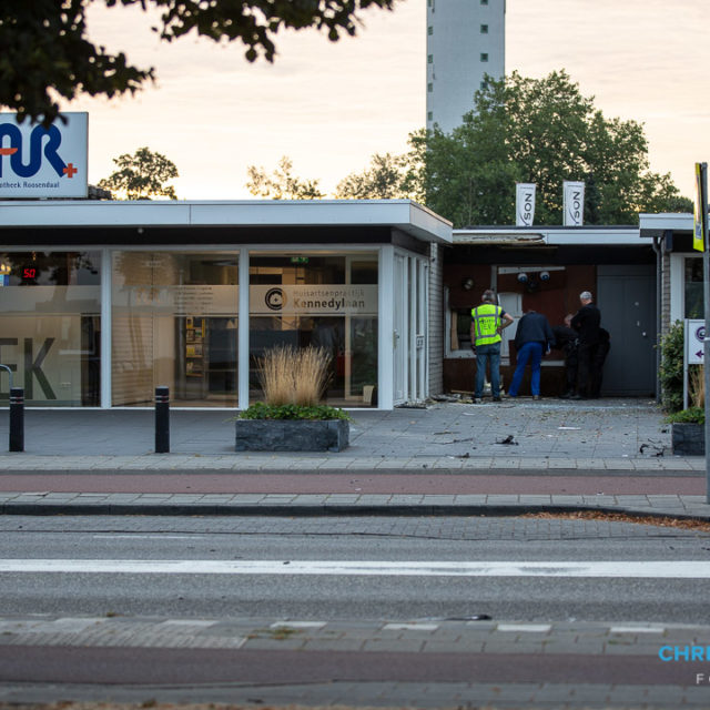 Plofkraak op geldautomaat in Roosendaal