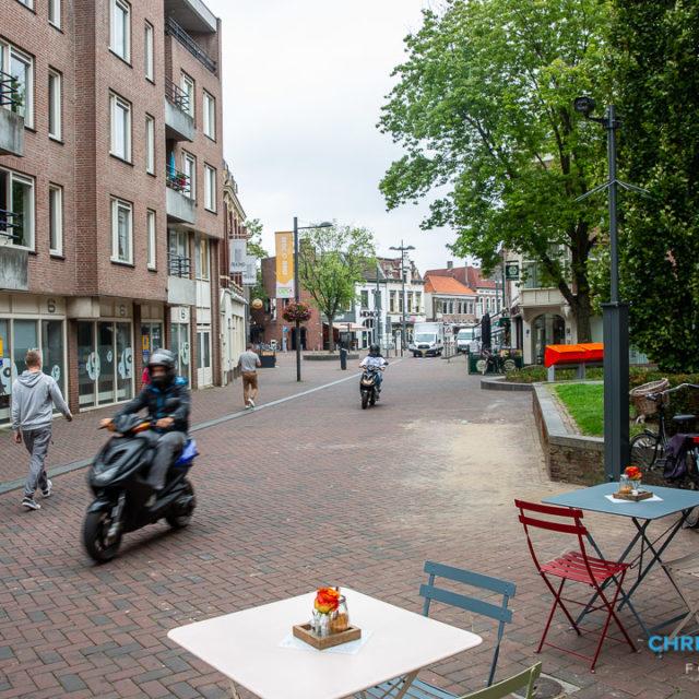 Voetgangers en fietsers krijgen de ruimte in de binnenstad van Roosendaal