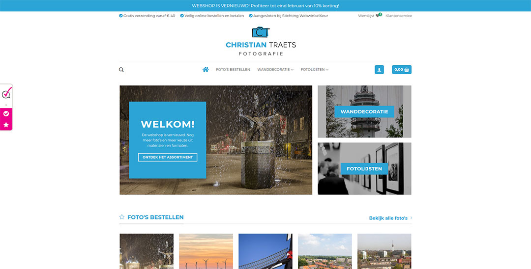 Webshop Christian Traets Fotografie