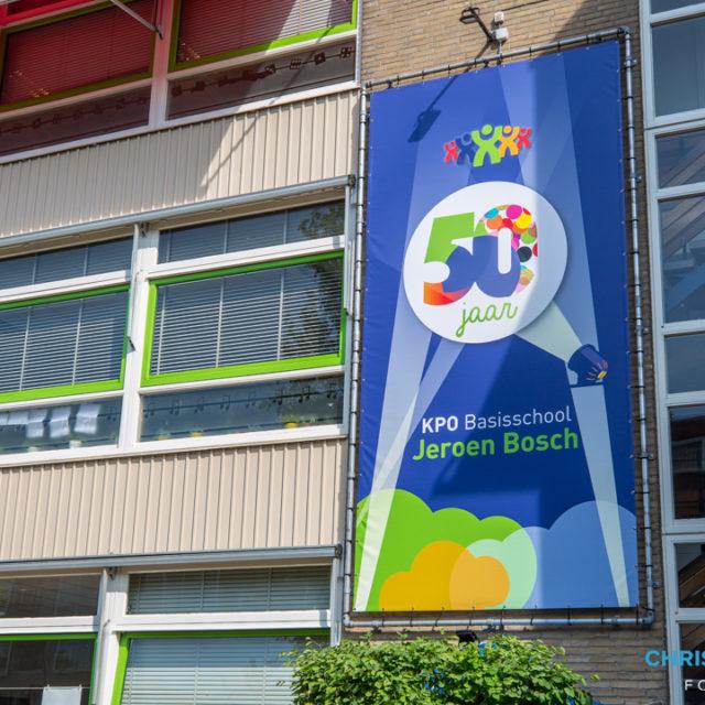 Basisschool Jeroen Bosch viert vijftigjarig jubileum