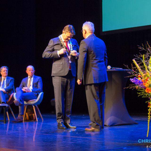 Han van Midden geïnstalleerd als burgemeester van Roosendaal